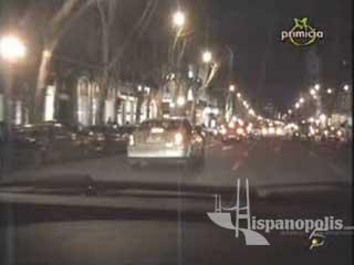 Rosa López es victima de una peligrosa persecución de paparazzi por las calles de Madrid.