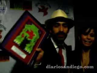 Feliz estuvó el actor mexicano Bruno Bichir conviviendo con sus fans en el marco del Festival de Cine Latino en San Diego que celebró en grande 15 aniversario contando con grandes luminarias latinoamericanas.