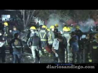 Las imágenes y la crónica de los momentos tras el accidente aéreo donde falleció Mouriño y Vasconcelos.