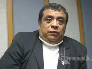 Cabalgata de Reyes 2008, entrevista con Leobardo González.