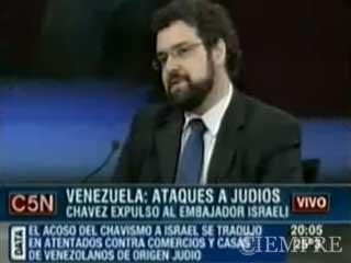 Chávez y la comunidad Judía de Venezuela