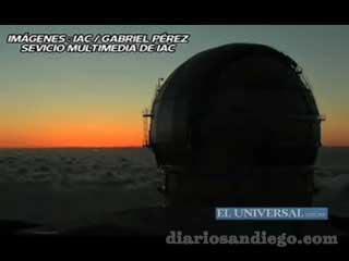 Es el más avanzado del mundo, es una iniciativa española con la participación del Insituto de Astronomía de la UNAM y el Instituto Nacional de Astrofísica, Óptica y Electrónica de Puebla.