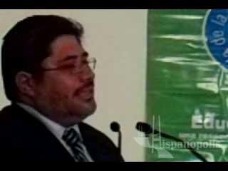 David Calderón Martín habla de la Campaña por la educación del consejo de la comunicación en su 50 aniversario.