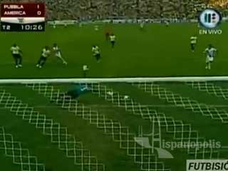 Puebla vs América 2-1 Jornada 12 Bicentenario 2010 Futbol Mexicano