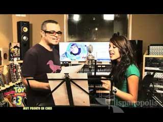 El Making of con Aleks Syntek & Danna Paola: Yo soy tu amigo fiel - Toy story 3