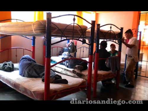 De los poco más de 50 migrantes que llegaban en promedio diariamente al refugio San Juan Diego en Edomex, hoy sólo 12 permanecen y al menos la mitad busca regresar a su país.