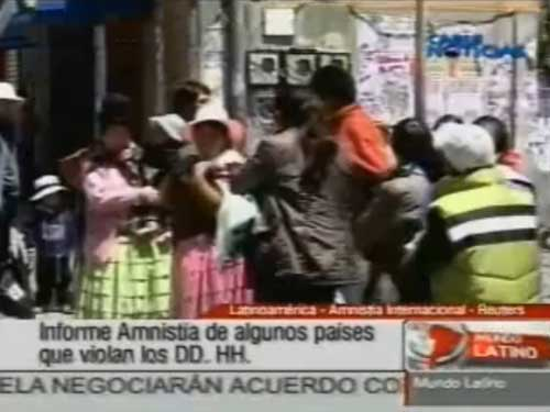 Latinoamérica: Informe de Amnistía Internacional de algunos países que violan los Derechos Humanos.