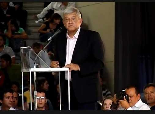 Extracto de la conferencia La Regeneración de México impartida por Andrés Manuel López Obrador (AMLO) en la Ibero Puebla.