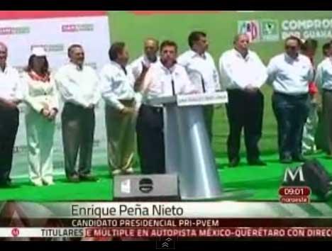 Enrique Peña Nieto, aseguró que los primeros 12 años del siglo XXI se perdieron con los gobiernos panistas.