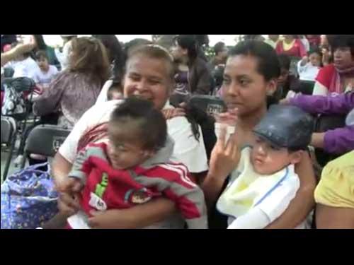 Un día del niño feliz, gracias a las voluntarias judeo mexicanas