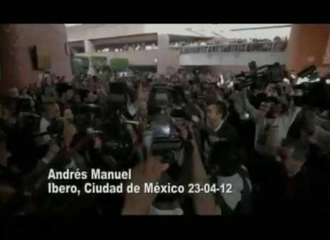 Contraste en la forma en que reciben a AMLO y a EPN en las Universidades del país. AMLO Presidente 2012 http://amlopresidente.com.mx