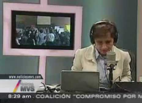 Peña Nieto En La Ibero - Analiza Meyer, Aguayo, Dresser MESA POLITICA 14-05-12 MVS 1/2