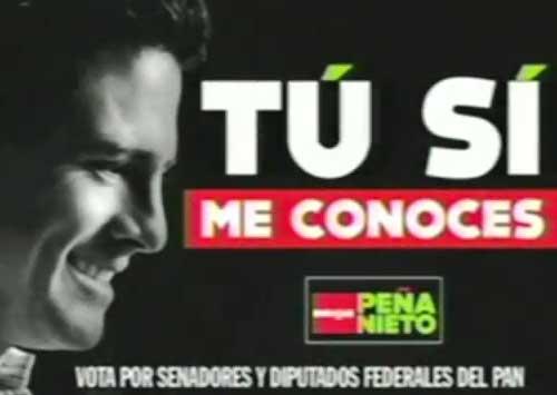 Tú Me Conoces - Enrique Peña Nieto (EPN) - SPOT ORIGINAL