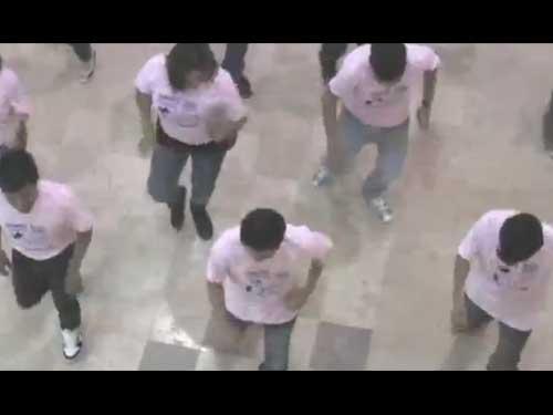 Flashmob Jóvenes Viviendo México con Josefina - Chiapas