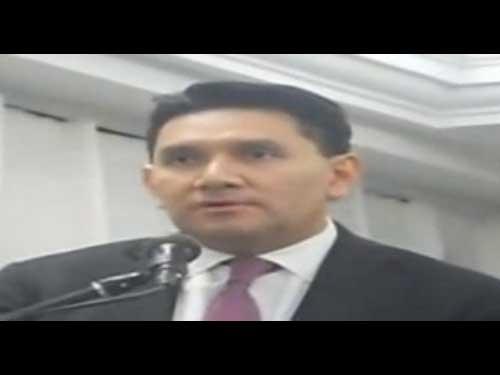 Mensaje a la Comuinidad Judía de México por el Lic. Félix A. Fuentes Villalobos, Srio. de Desarrollo Económico