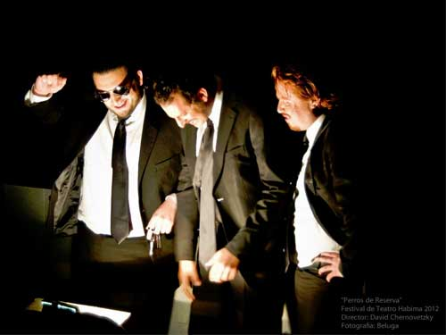 La obra de teatro Perros de Reserva 2.0 de la Compañía Torito con Antifaz se presentará en 3er festival de Teatro Independiente. El 27 de Enero del 2013 a las 18:00 hrs en el Centro Cultural Carranza, México DF.