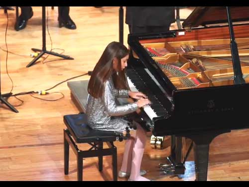 Daniela Liebman - Shostakovich Piano Concerto No. 2 - 1st movement; Allegro.