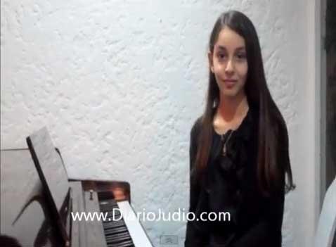 Escucha en exclusiva a Daniela Liebman, concertista judeo-mexicana de 11 años y su mensaje para Kol Shalom