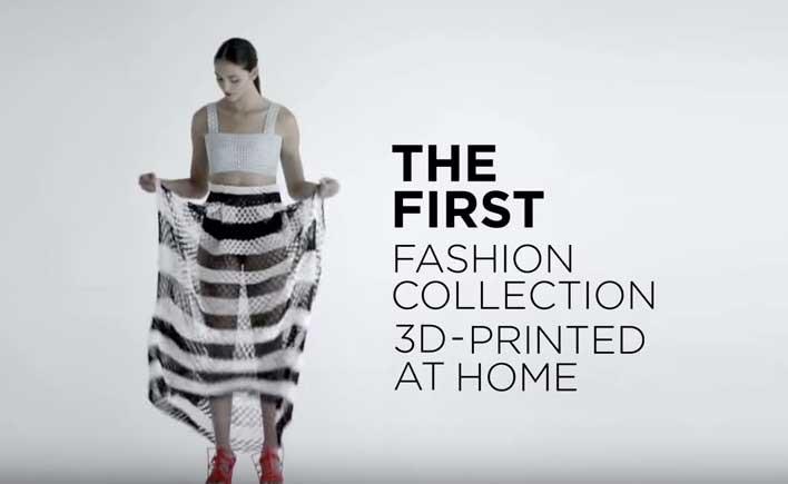 Danit Peleg tiene 27 años y es una estudiante israelí de diseño de moda impresa en 3D. Ya tiene toda una colección de moda desde su casa. Mira el siguiente video, una muestra de por qué Israel es una Start Up Nation.
