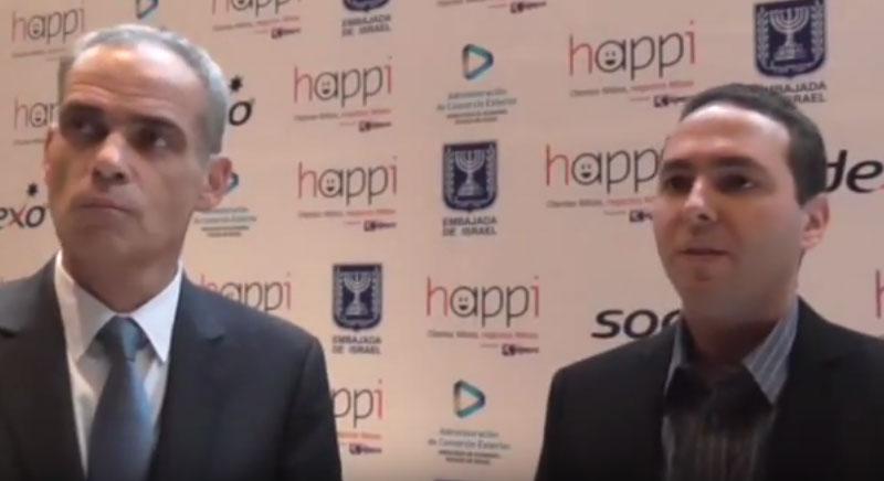 Entrevista exclusiva con el Embajador de Israel en México, durante la presentación de HAPPI