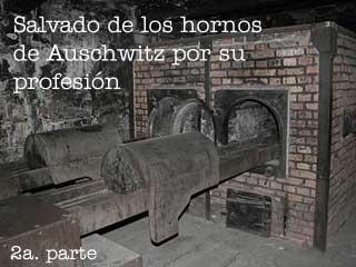 Salvado de los hornos de Auschwitz por su profesión