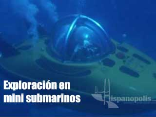 Exploración en mini submarinos