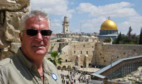 Bob Gannon's Odyssey: Around the World and Trip to Israel