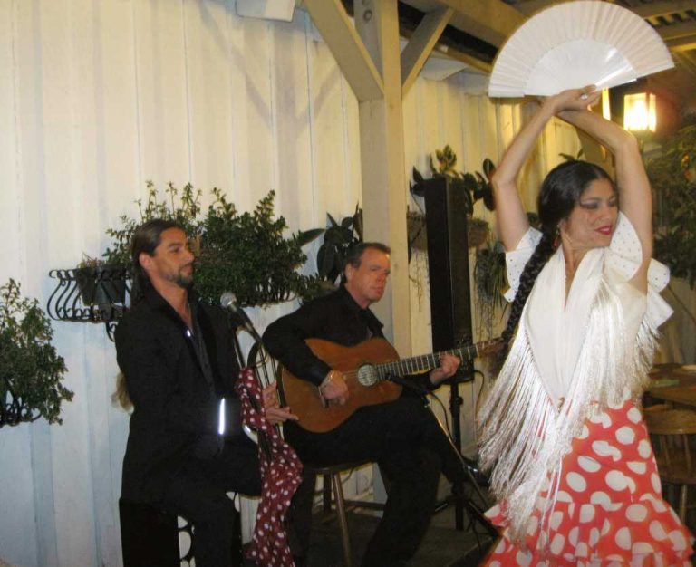 Lakshmi Basile and Dancing Flamenco