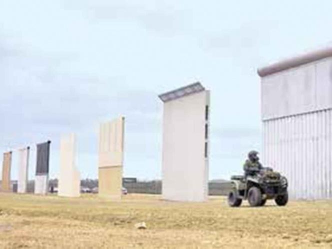 Llamarada de petate, el muro de Trump; no se ha construido un solo metro