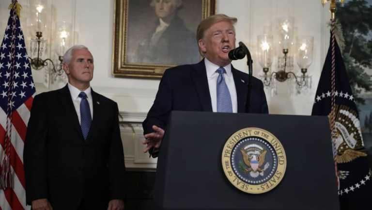 Trump condena el supremacismo blanco pero evita proponer una reforma del control de armas