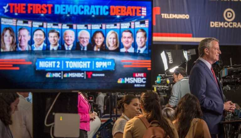 Califican ocho candidatos demócratas para participar en tercer debate