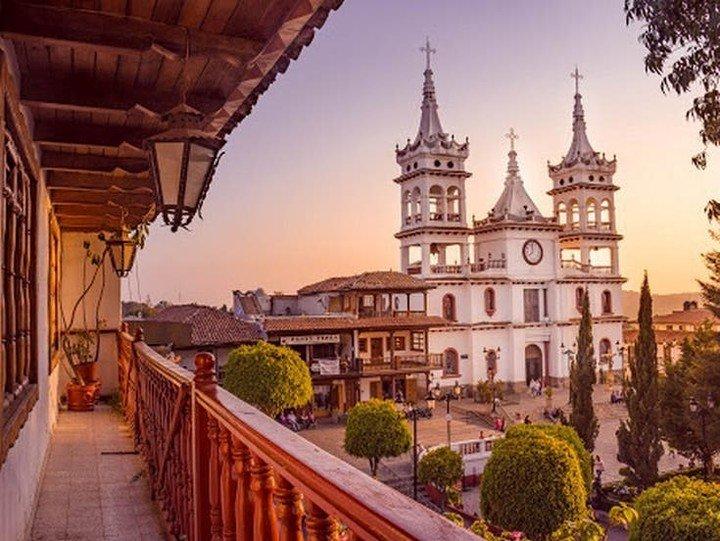 Mazamitla, en Jalisco, es un pueblo mágico famoso por la iglesia de San Cristóbal.