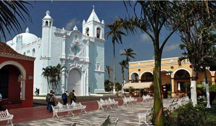 Tlacotalpan, un pueblo mágico ubicado en el suereste de Veracruz, México.